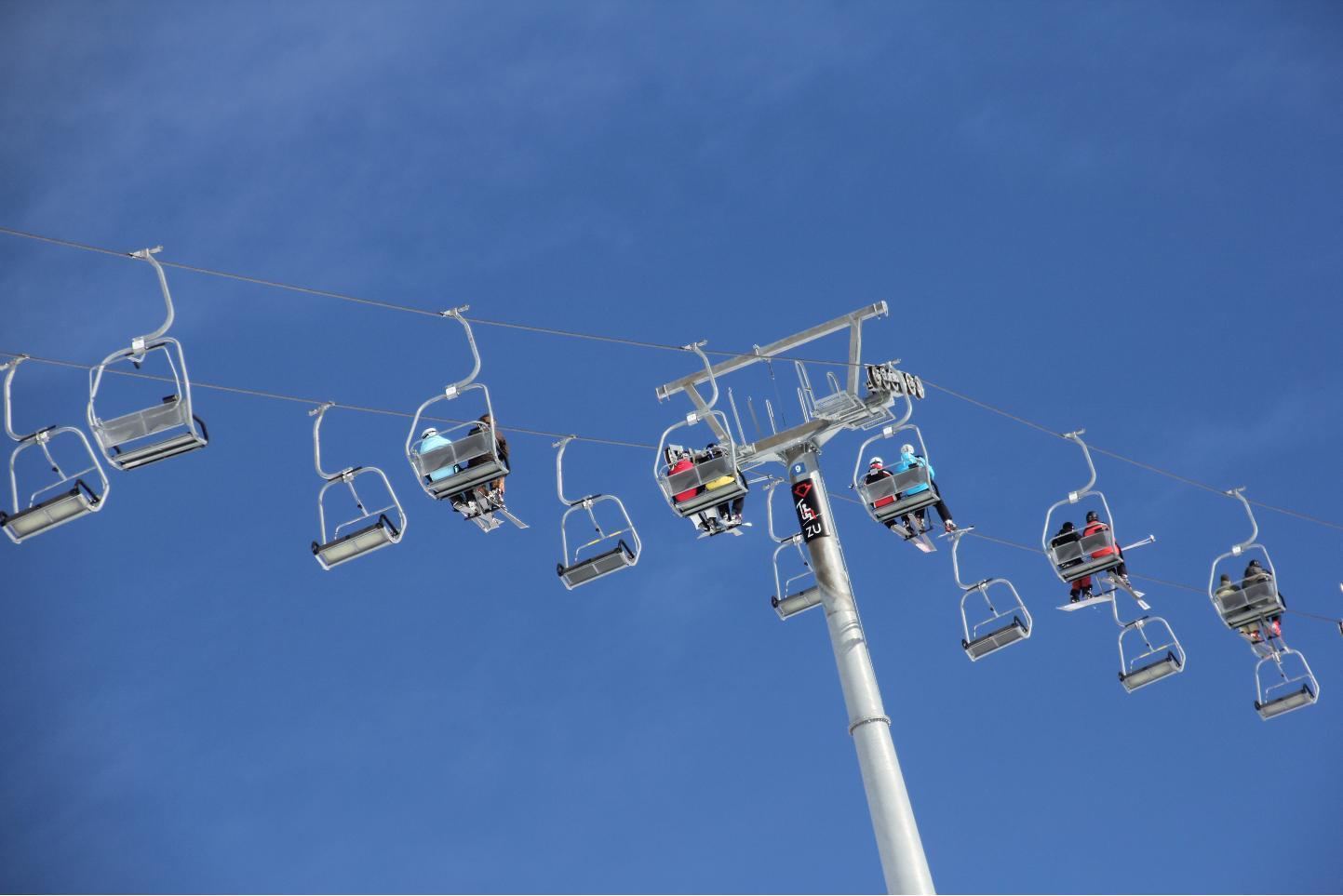 Blue Sky Chair Lift © JonoVernon-Powell