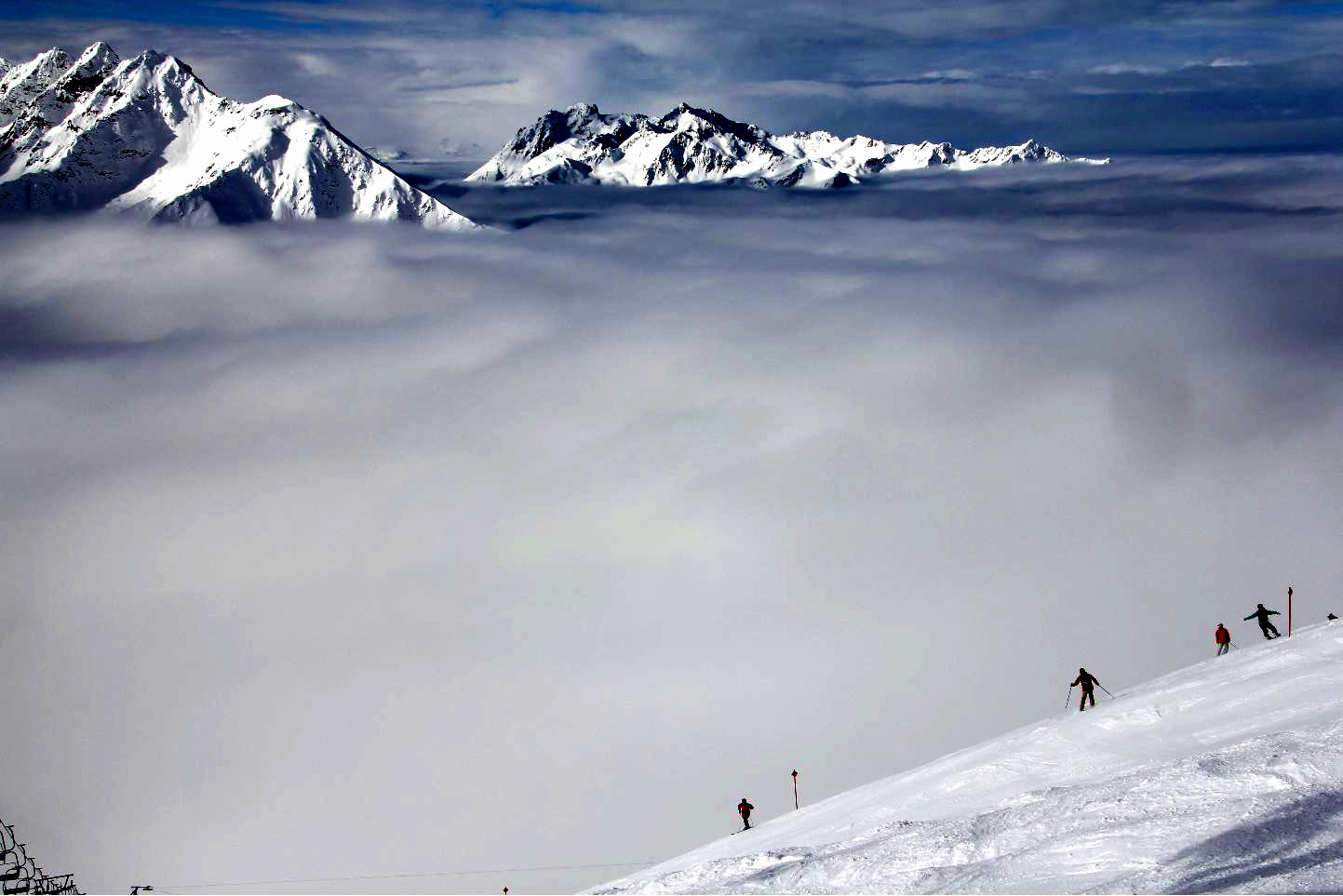 Cloud skiing © JonoVernon-Powell