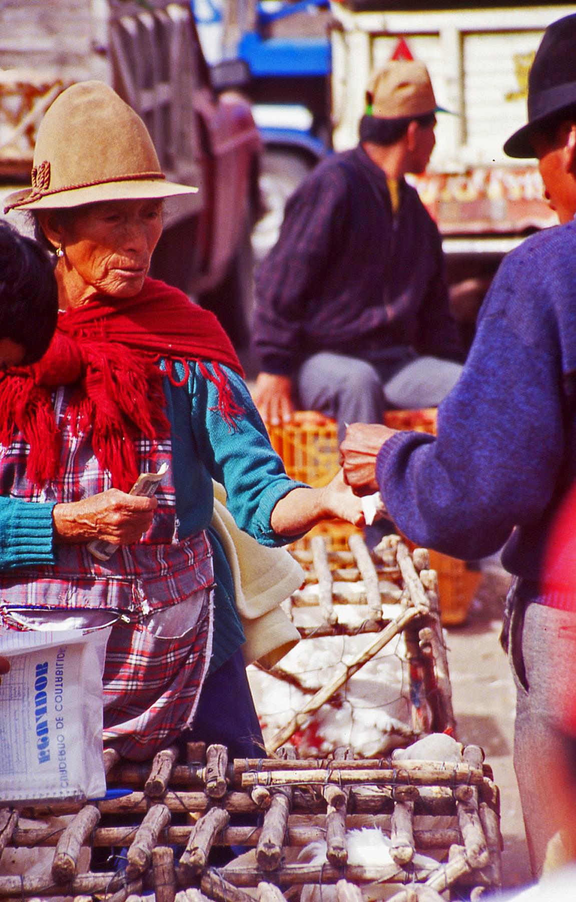 Ecuador market trader © JonoVernon-Powell