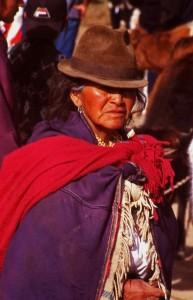 Market lady Ecuador © JonoVernon-Powell