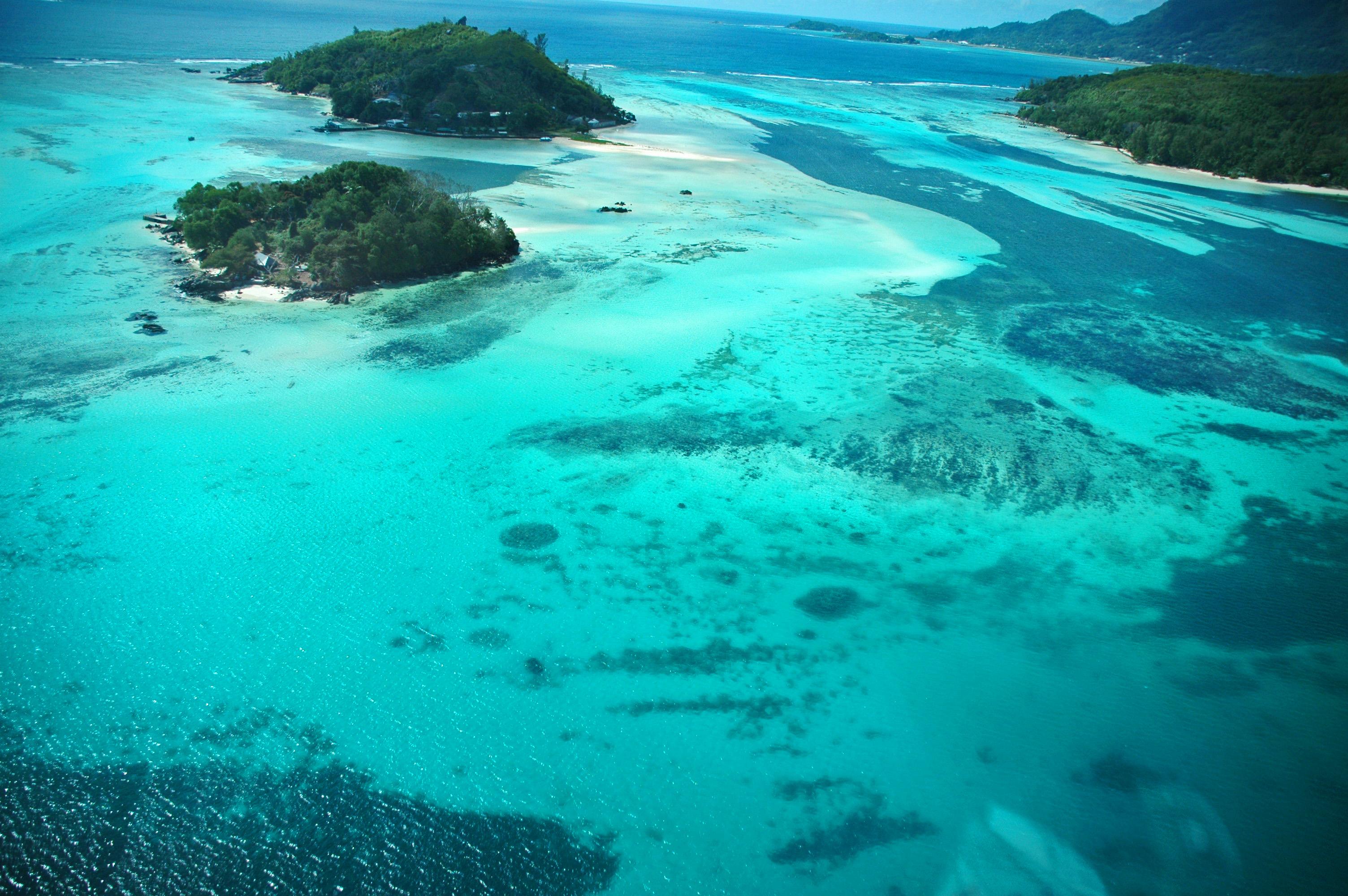 Seychelles from the air © JonoVernon-Powell