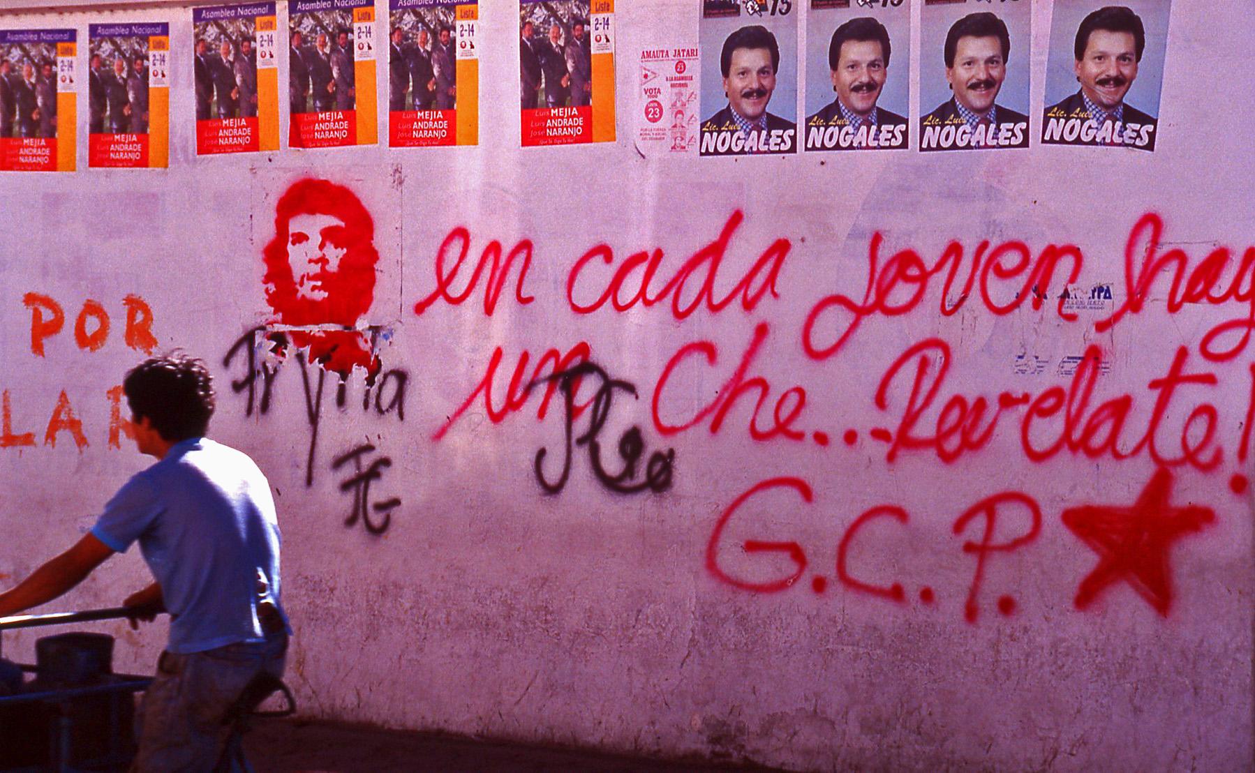 Socialist Ecuador © JonoVernon-Powell