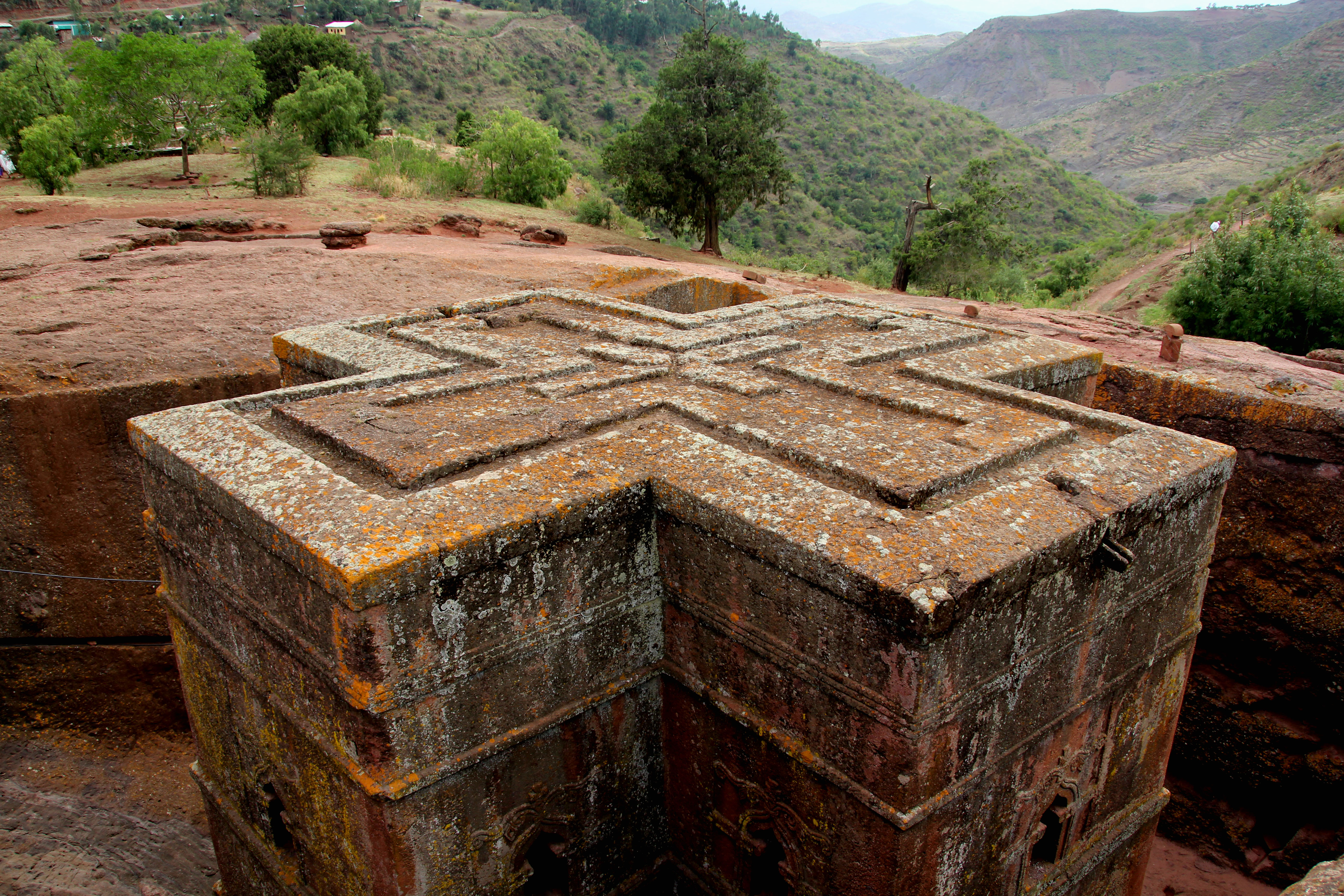 Lalibela Cross Church - © JonoVernon-Powell.com