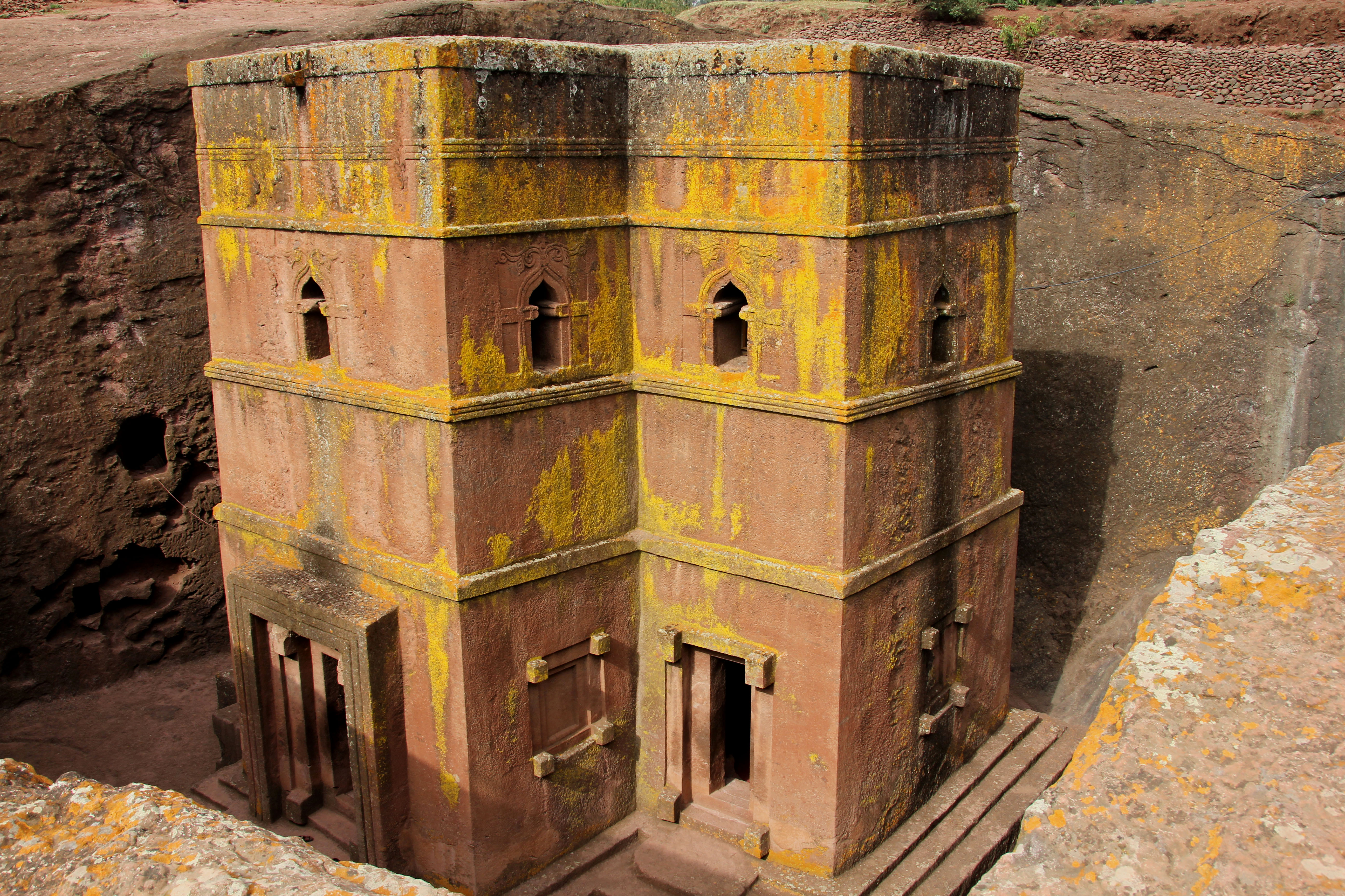 Lalibela Rock Church © JonoVernon-Powell.com