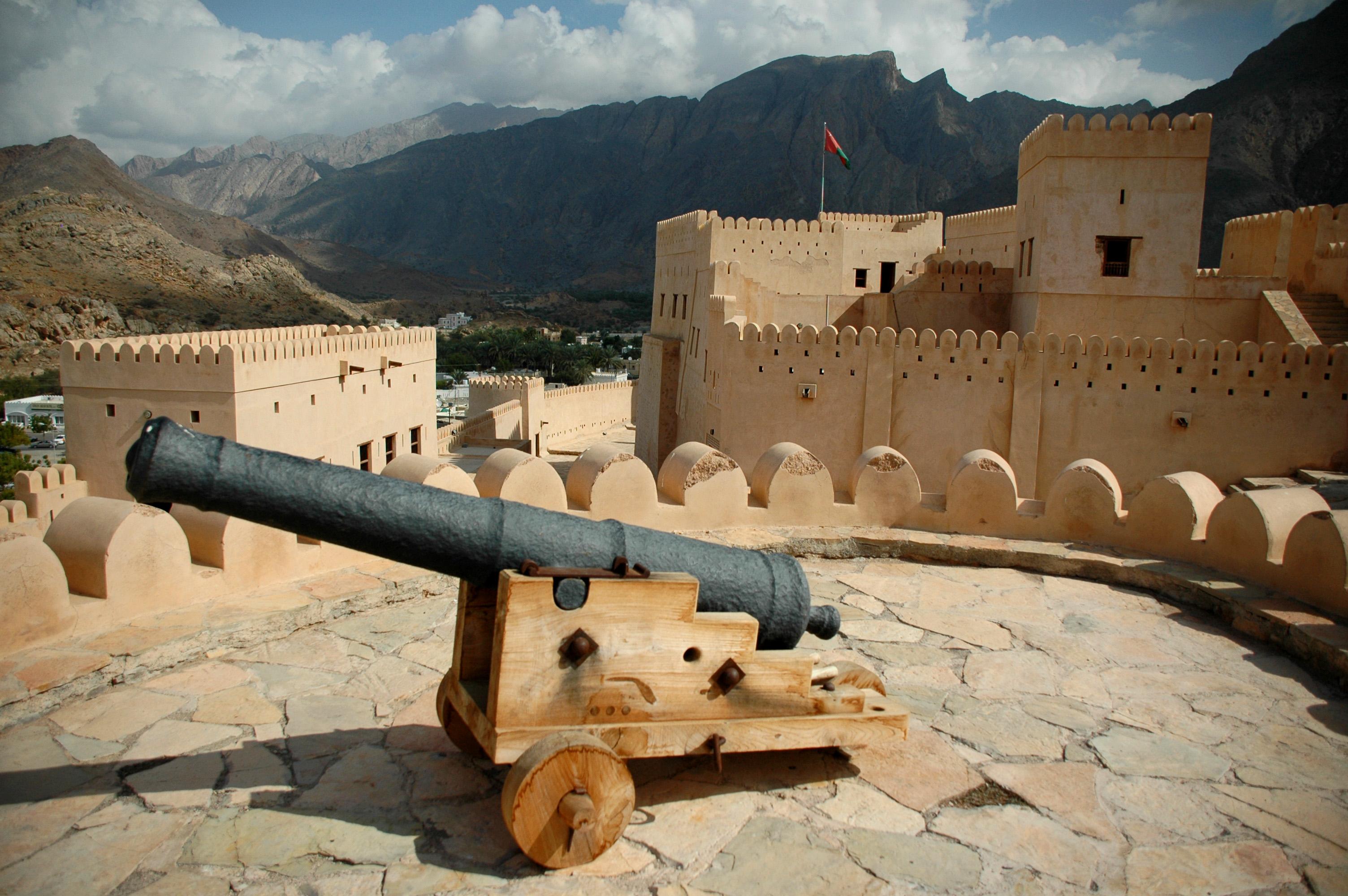 Oman Fort Ramparts © jonovernon-powell.com