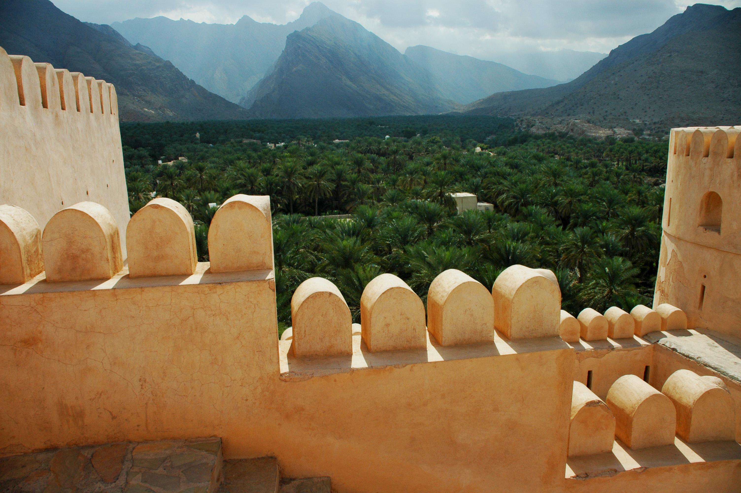 Ramparts & Palms Oman