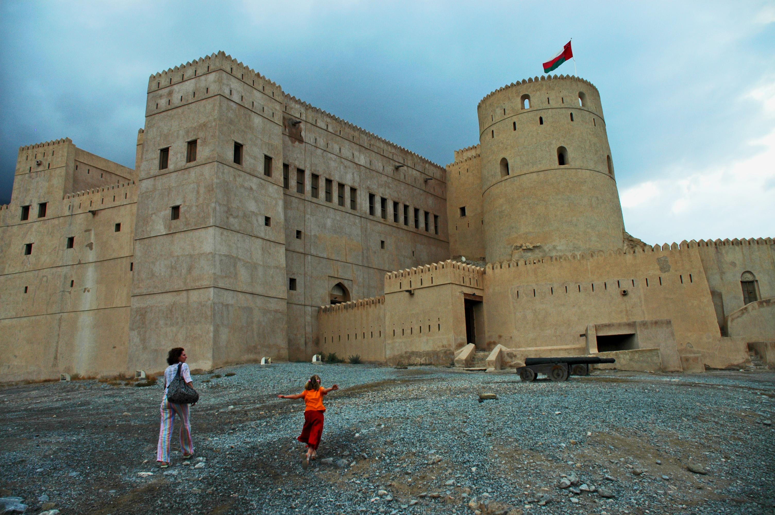 Storming Rustaq Fort Ramparts © jonovernon-powell.com