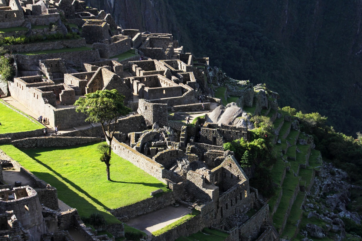 Macchu Pichu housing area © Nomadic Thoughts.com