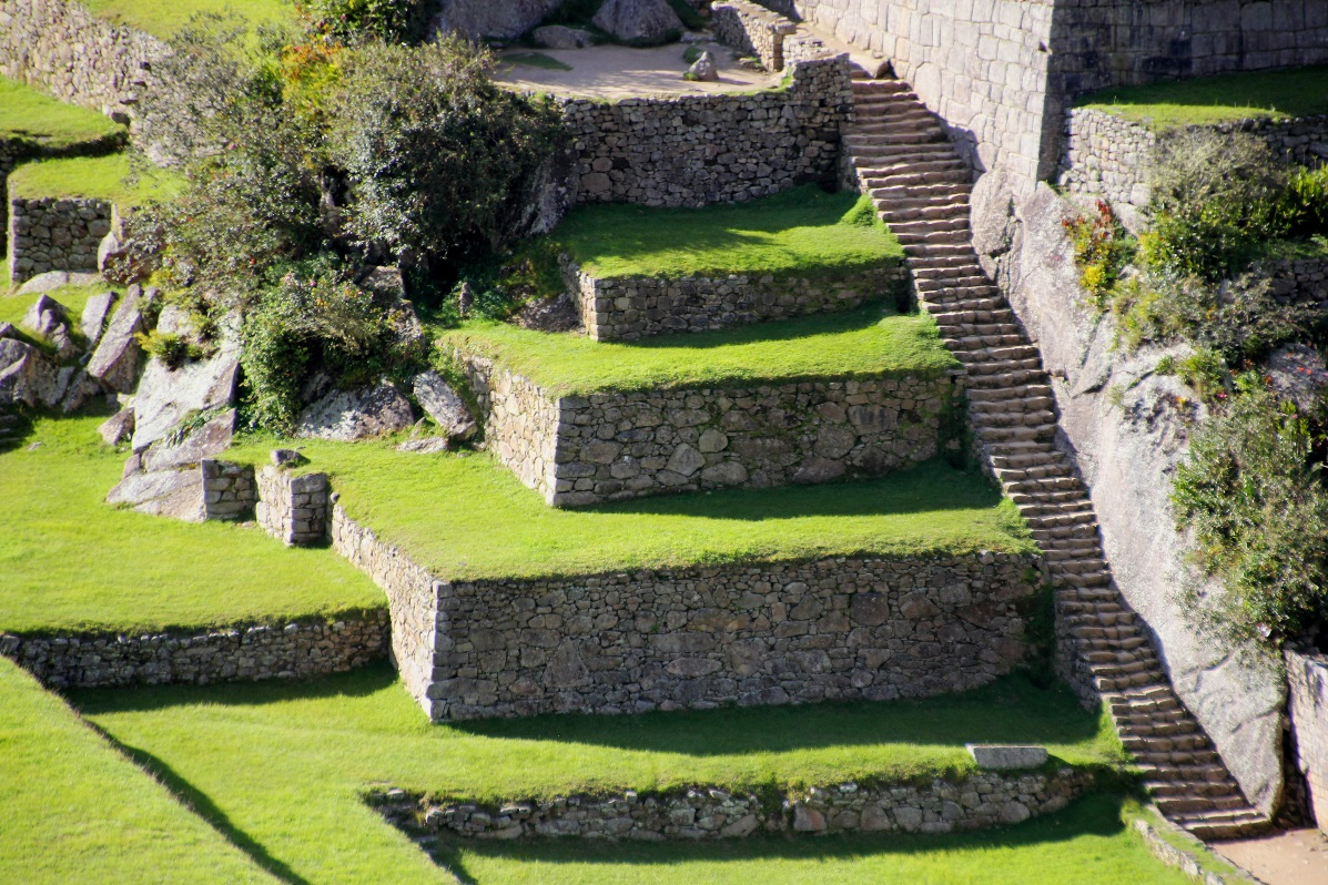 Macchu Pichu steps © Nomadic Thoughts.com