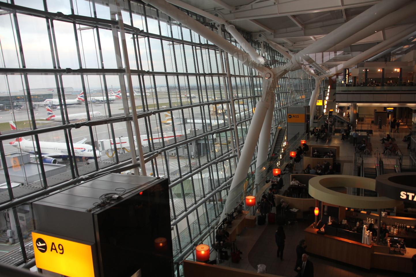 Heathrow Terminal 5 - to be destroyed or downgraded?