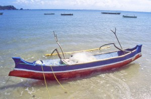 Lombok fishing boat © Nomadic Thoughts.com