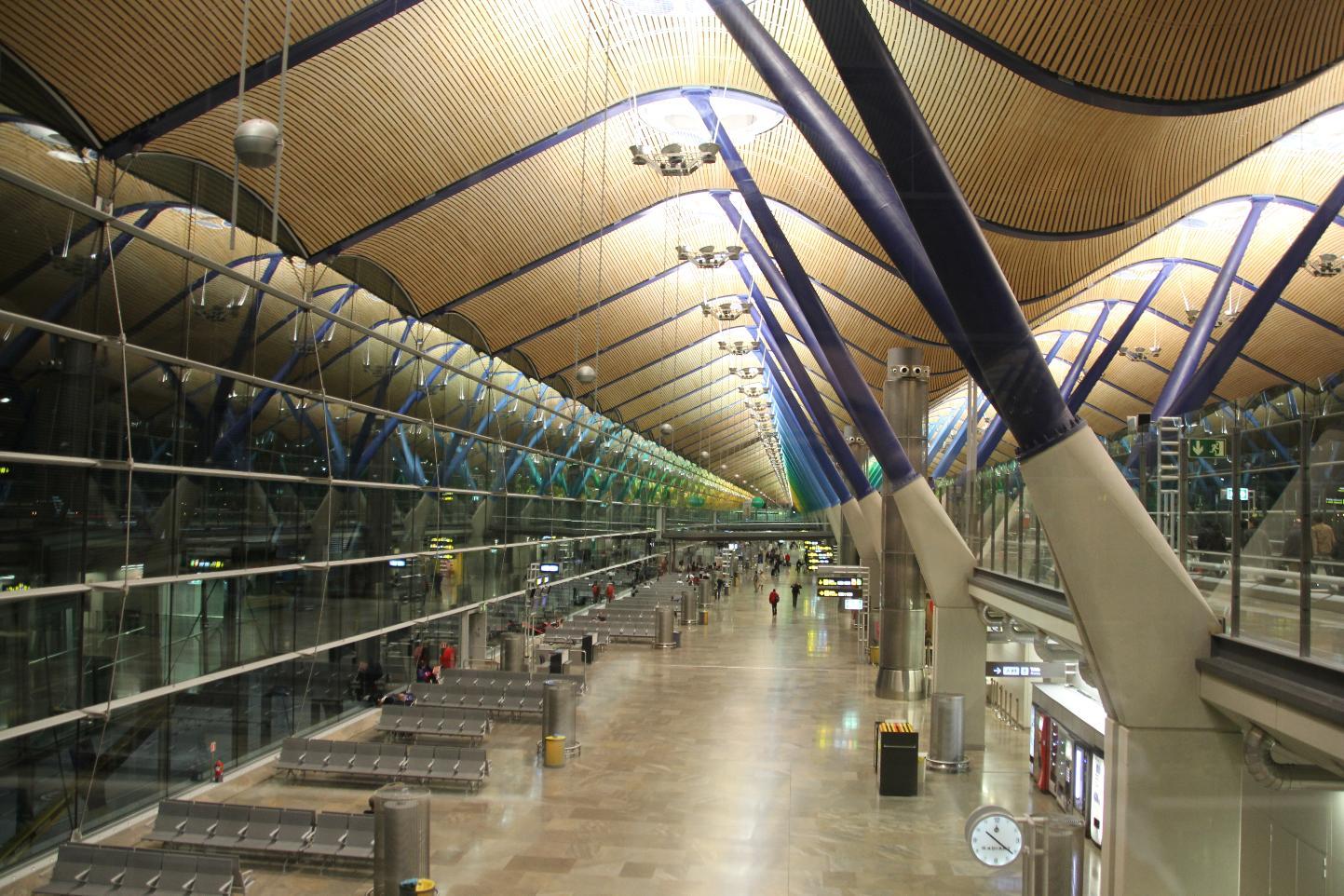 Madrid airport - British Airways & Iberia future hub location to be decided.