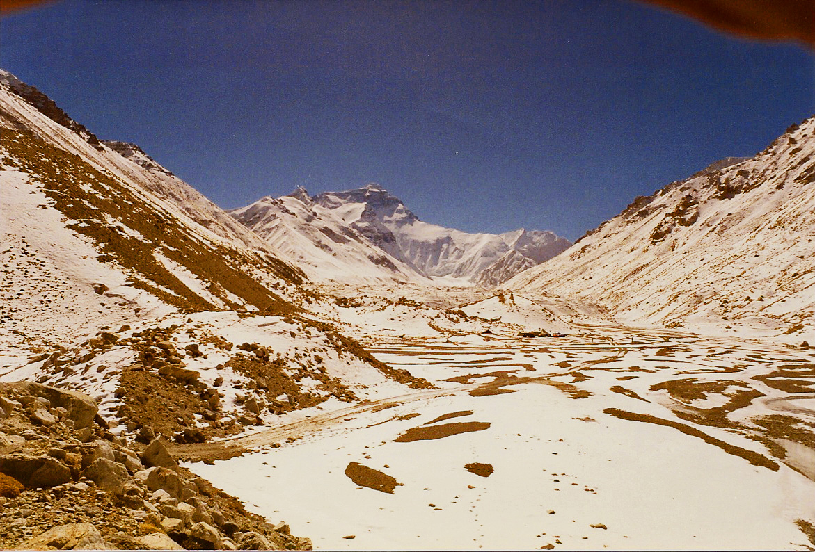 Mount Everest glacial approach 1985