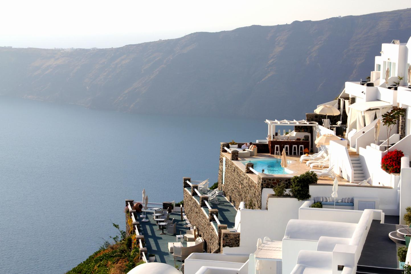 Santorini Grace Pool & Rooms © JonoVernon-Powell.com