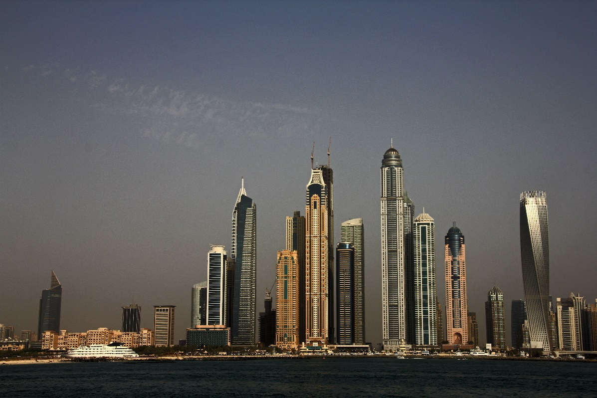 Dubai Skyline copyright nomadic-thoughts