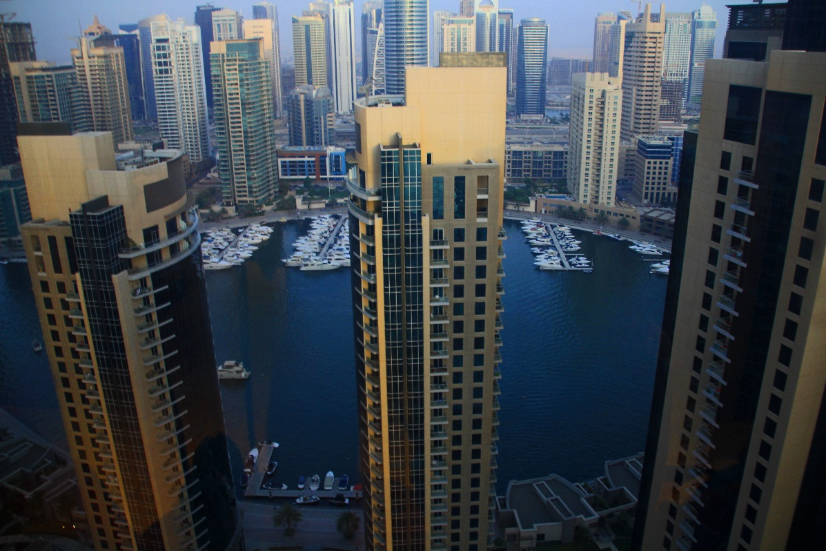 JBR Harbour Towers copyright nomadic-thoughts