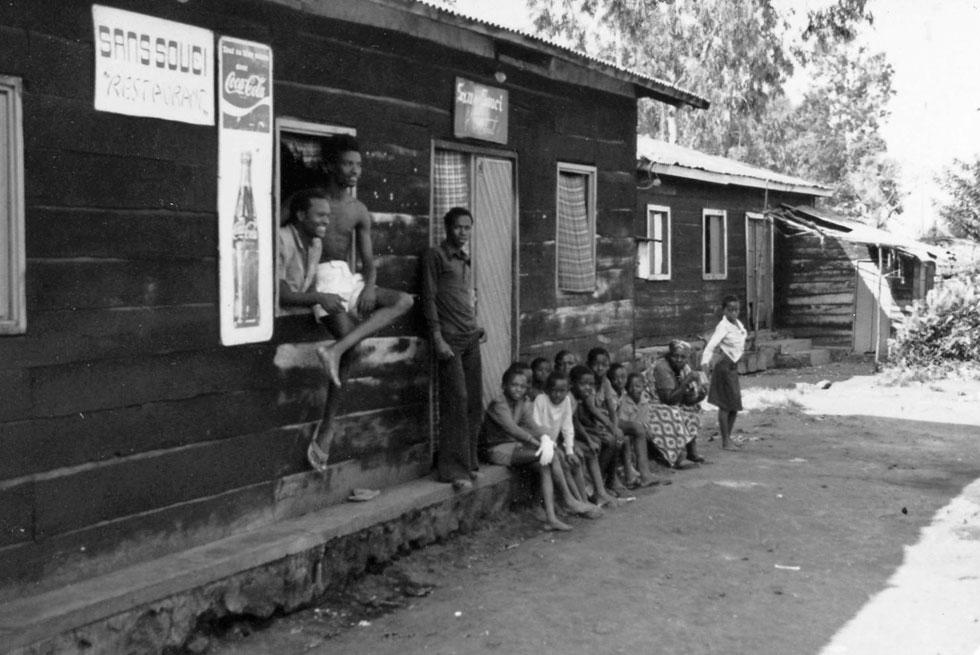 Goma tea-house, Zaire 1983