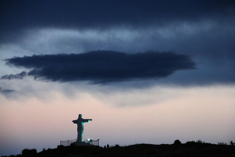 Cristo Blanco (White Christ). Cusco - Peru.