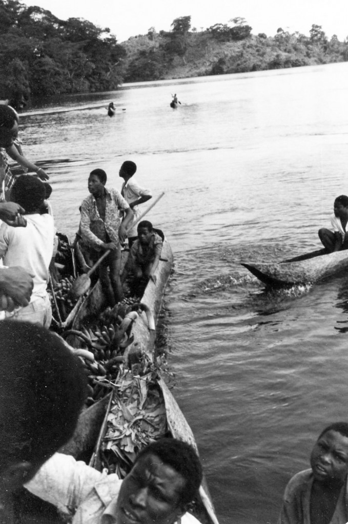Lake Kivu boat traders, Zaire 1983