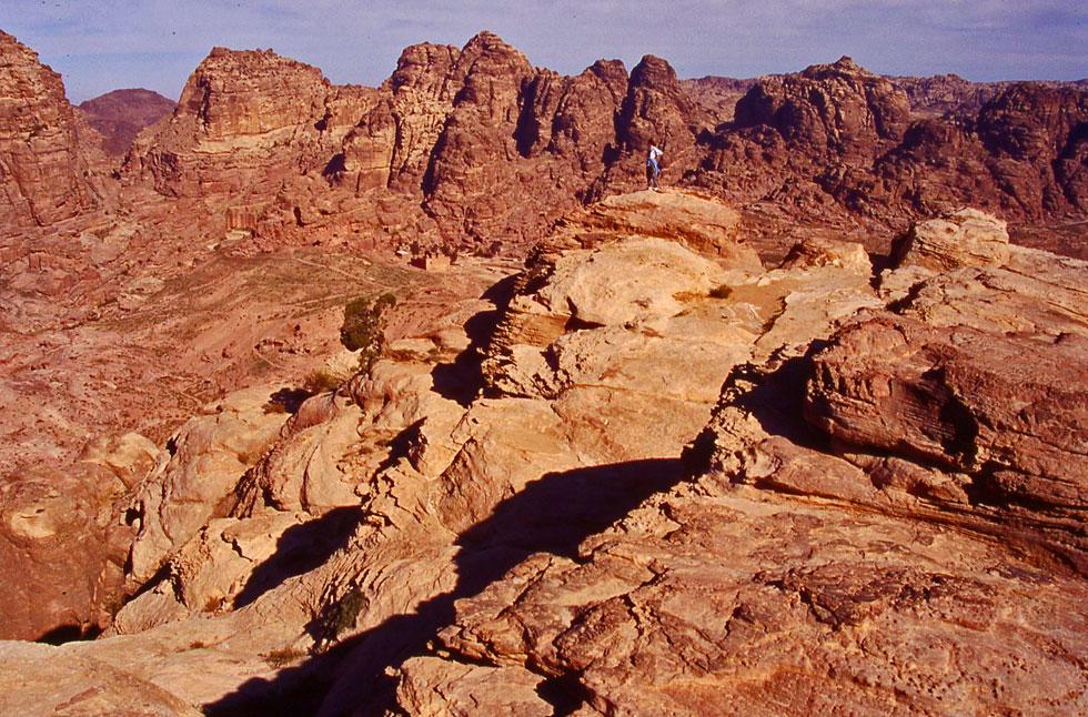 Mountain desert views - Petra