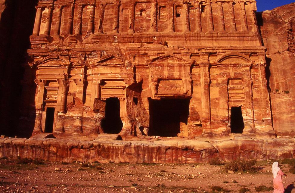 Rock temples - Petra