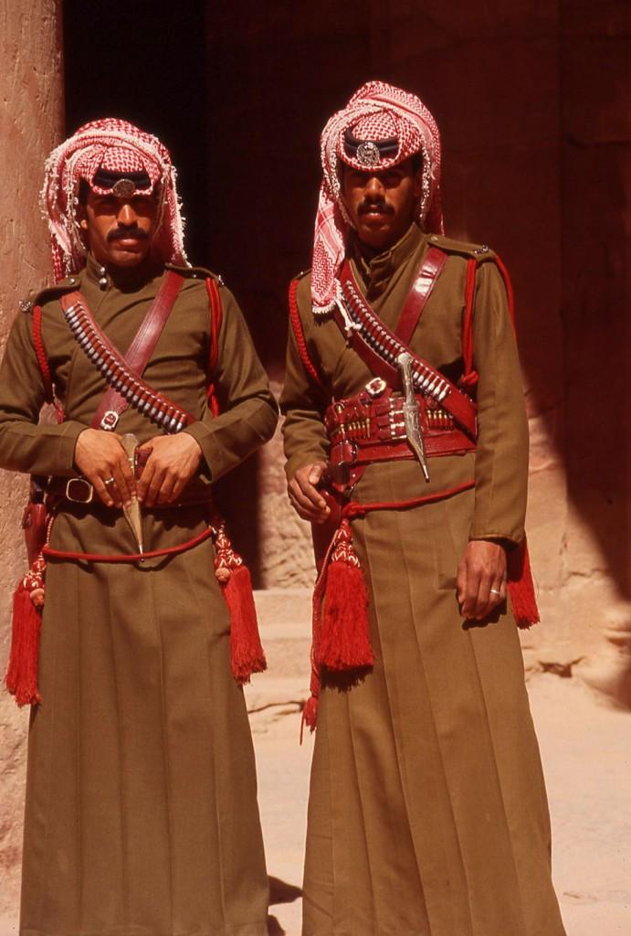 Royal guards, Petra