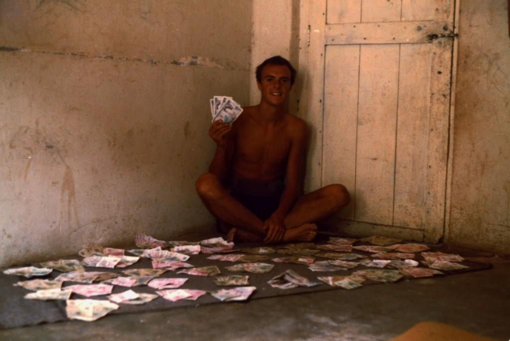 £ 80 = 48,000 Ugandan Shillings - 1983
