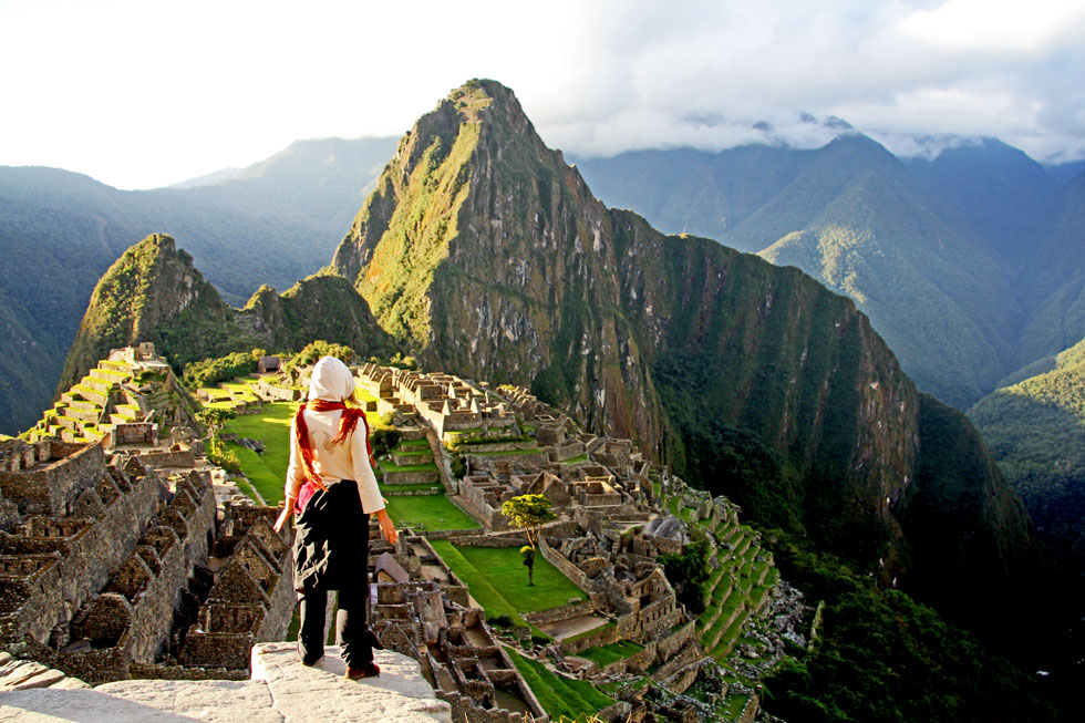 Machu Picchu - hasn't seen anything yet.