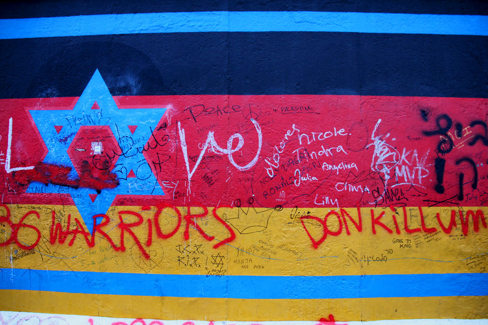 Berlin Wall graffeti