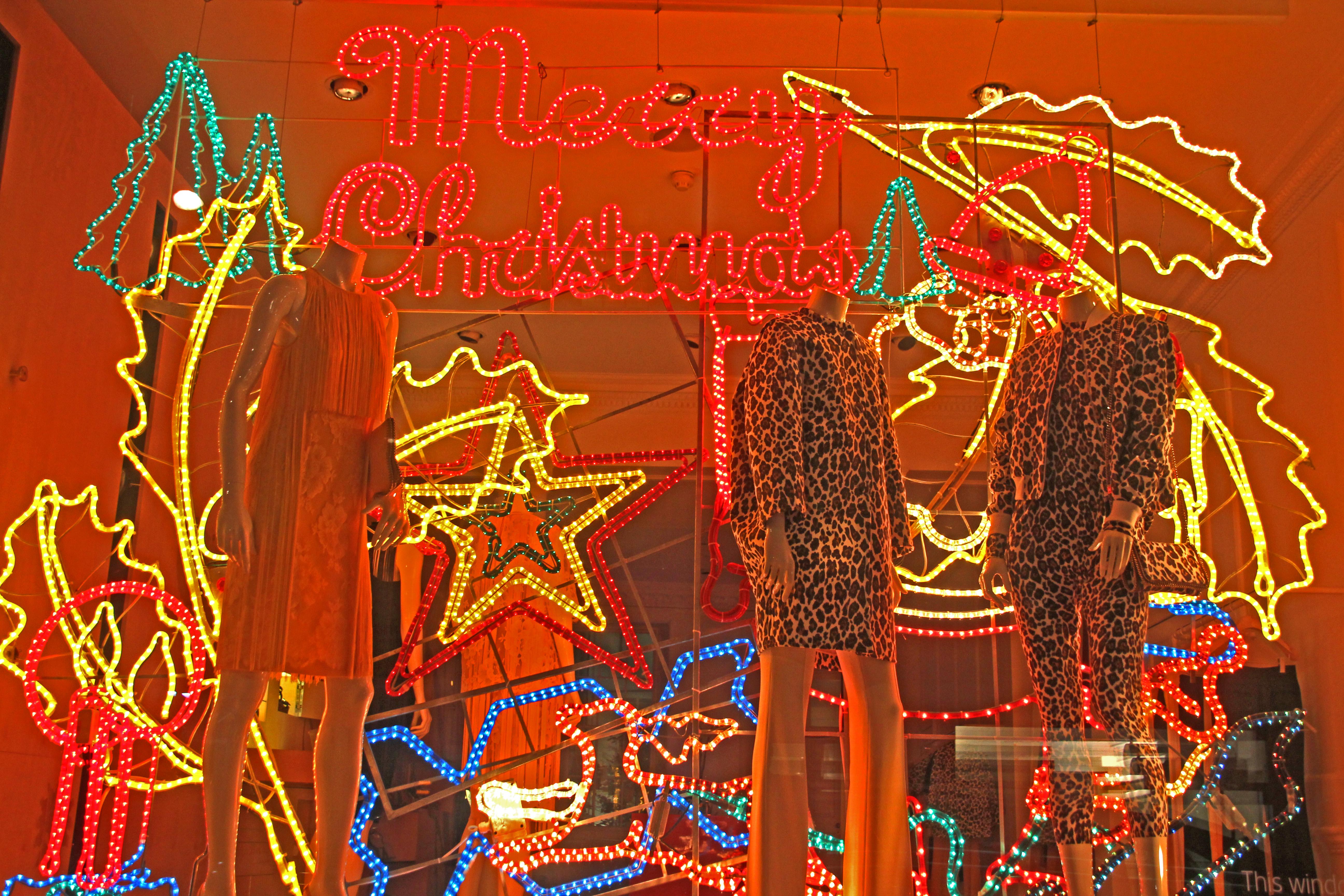 London Christmas Window © jonovernon-powell