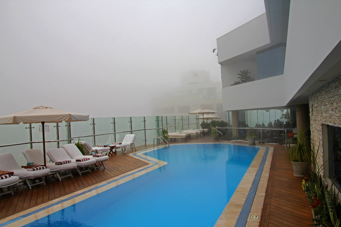 Fancy time by a sun-free swimming pool?